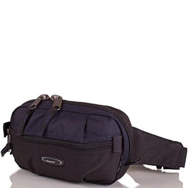 Сумка поясная Onepolar Мужская поясная сумка ONEPOLAR (ВАНПОЛАР) W3001-navy
