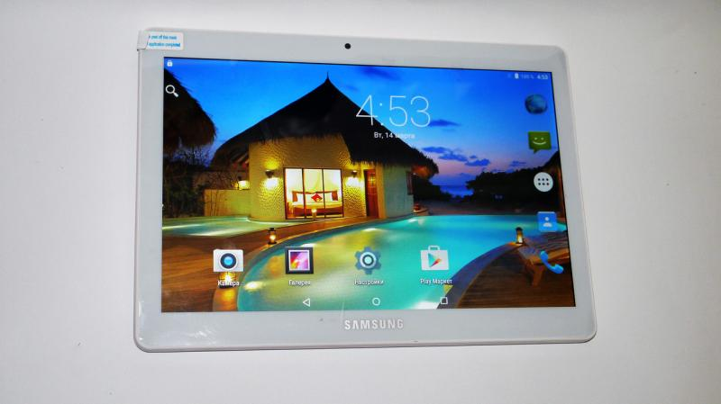 "Планшет-телефон Samsung Galaxy Tab 2Sim 10,1"" . - 10Ядер+4GB Ram+32Gb ROM+GPS Silver. ( Реплика)"
