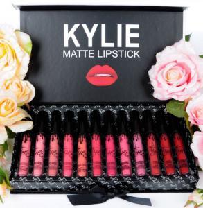 Фото Красота и здоровье, Уход за лицом и телом Набор матовых помад Kylie 12pc Matte Liquid
