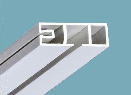 Фото Карнизы Пластиковые Потолочные «ОМ 1»  Карниз потолочный однорядный,   длина = 2,1 м