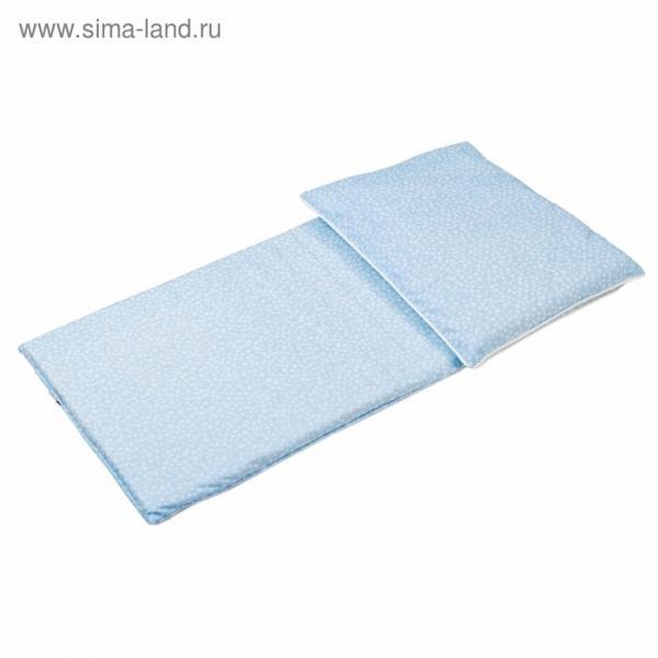 Комплект в коляску «Аю-баю», 2 предмета, голубой