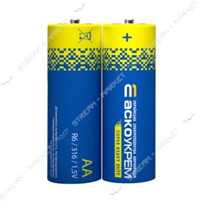 Батарейка АСКО АА/R6 ('пальчик') (цена за уп. 2 шт.)