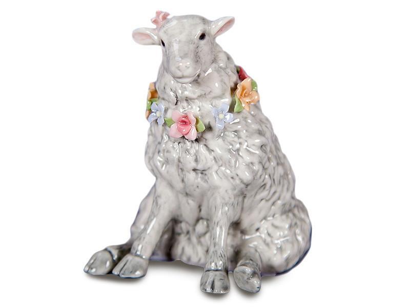 """Фигурка декоративная """"овечка"""", 7х8х9 см, Lefard, 461-203"""