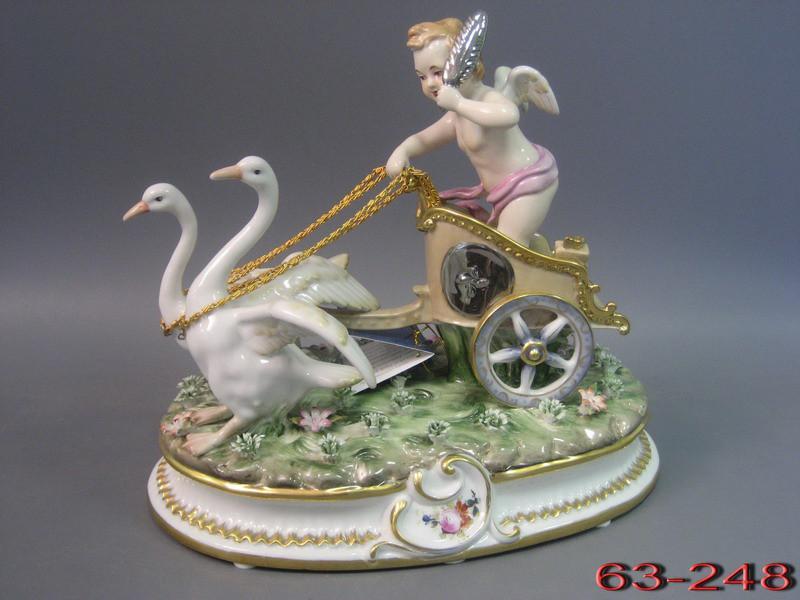 "Статуэтка ""ангел в колеснице"", Lefard, 63-248"