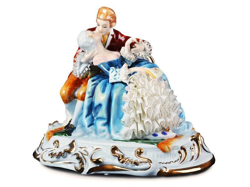 """Статуэтка """"сладкий поцелуй"""" 26 см, Lefard, 101-675"""