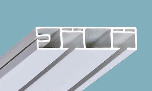 Фото Карнизы Пластиковые Потолочные «ОМ 2»  Карниз потолочный двухрядный,   длина = 1,8 м