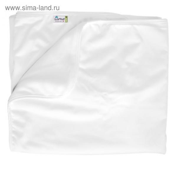 Пелёнка впитывающая, размер 100 × 120 см, цвет белый