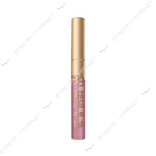 Блеск для губ Eveline Cosmetics BB Magic Gloss 6в1 №598