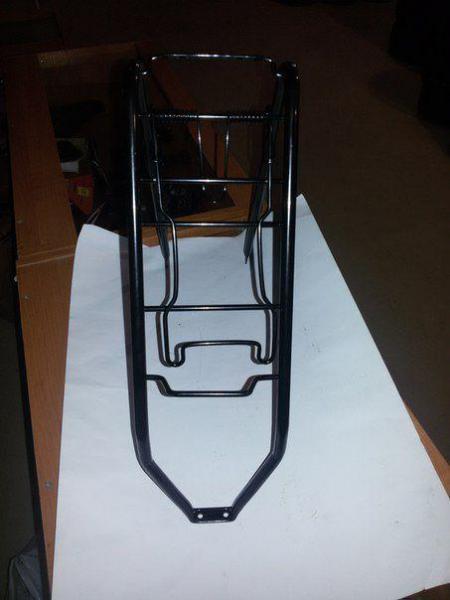 Новый багажник на велосипед 26