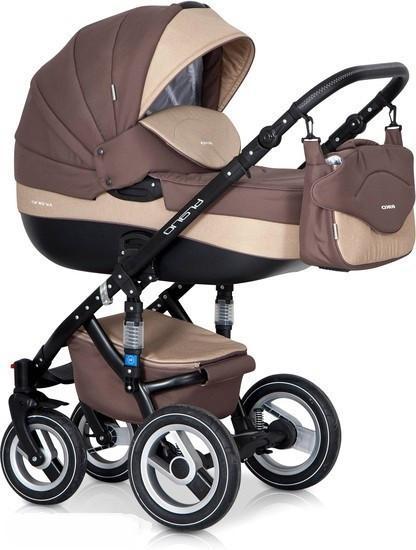 Детская универсальная коляска 2 в 1 Riko Brano 05 Beige