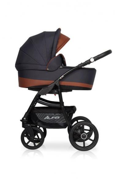 Детская универсальная коляска 2 в 1 Riko Alfa Ecco 03