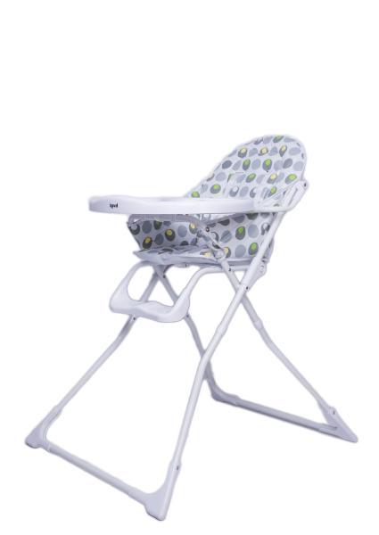 Детский универсальный стульчик для кормления Bugs Smart - Белый