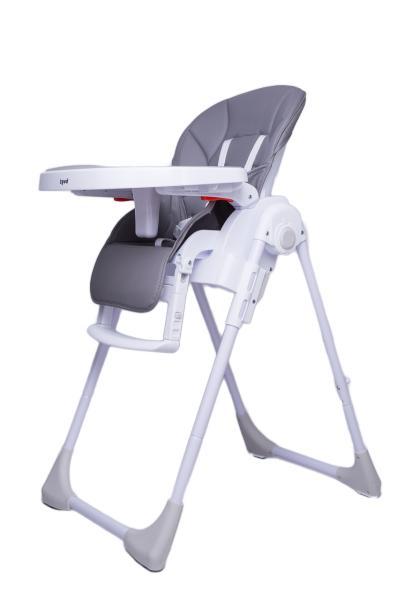 Детский универсальный стульчик для кормления Bugs Studio - Серый