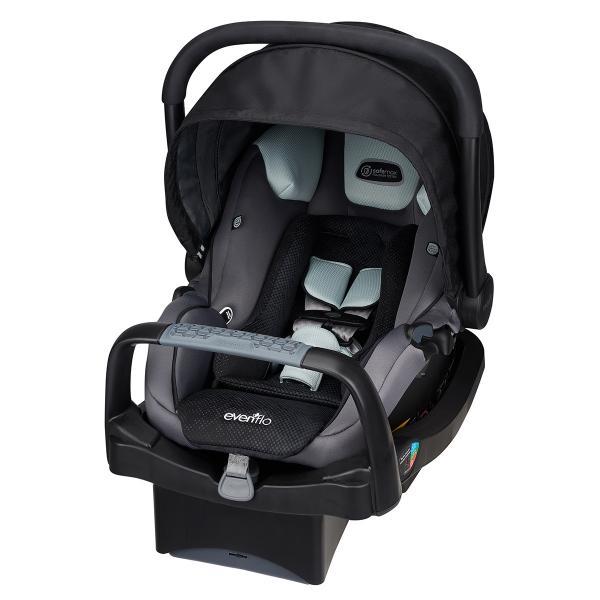 Детское универсальное автокресло Evenflo Safe Max Infant Car Seat цвет - Shilon (группа от 1,8 до 15,8 кг)
