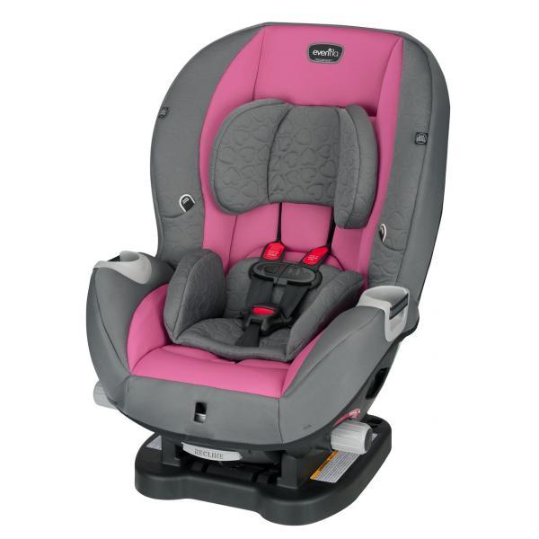 Детское универсальное автокресло Evenflo Triumph цвет - Kora Pink (группа от 2,2 до 29,4 кг)