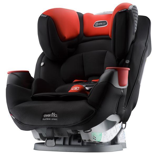 Детское универсальное автокресло Evenflo Safe Max Platinum цвет - Mason (группа от 2,2 до 49,8 кг)
