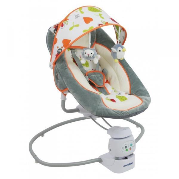 Детское кресло-качалка Baby Mix by002 360 Grey