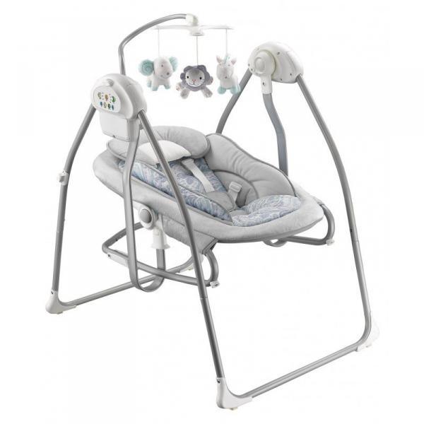 Детская качеля и лежак Baby Mix by020 Grey