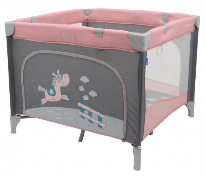 Детский универсальный манеж Baby Mix HR-SQ100 100x100 Pink