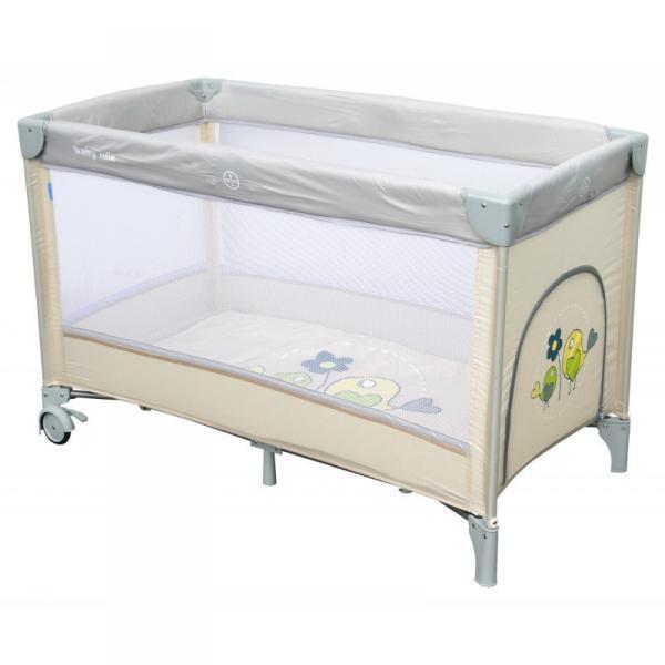 Детский универсальный манеж-кровать Baby Mix HR-8052 Beige
