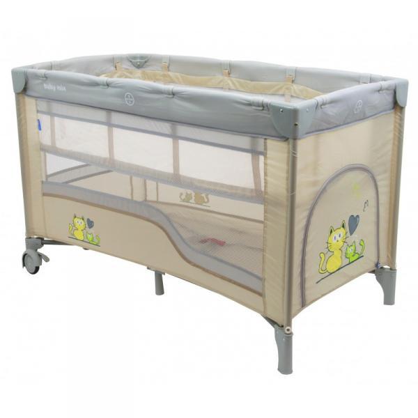 Детский универсальный манеж-кровать Baby Mix HR-8052-2 Beige