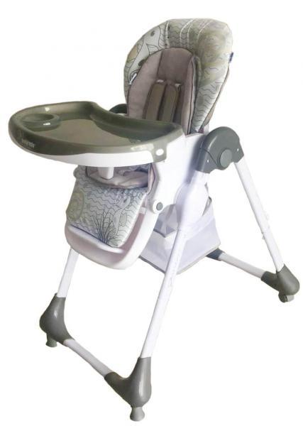Детский универсальный стульчик для кормления Baby Mix Junior YQ188 - 5 Dark Grey