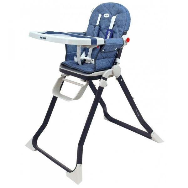 Детский универсальный стульчик для кормления Baby Mix Smart высокий CM-M006 Navy