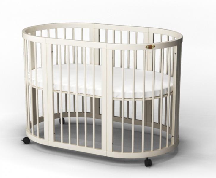 Детская кровать IngVart Smartbed Round Молочный