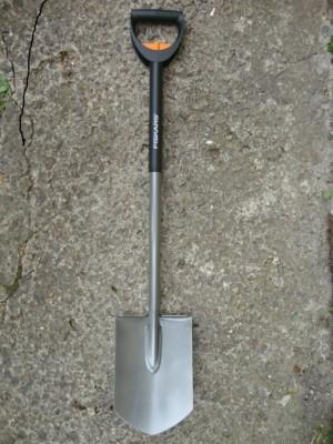 Телескопическая лопата Fiskars, штыковая (131300)
