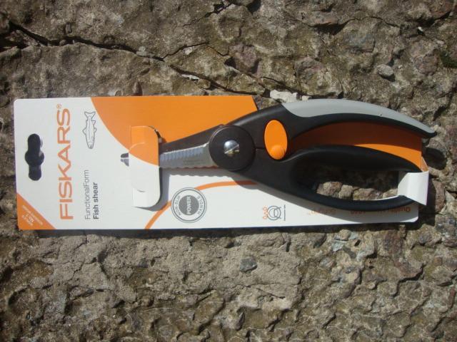 Кухонные ножницы от Fiskars для рыбы (859912)