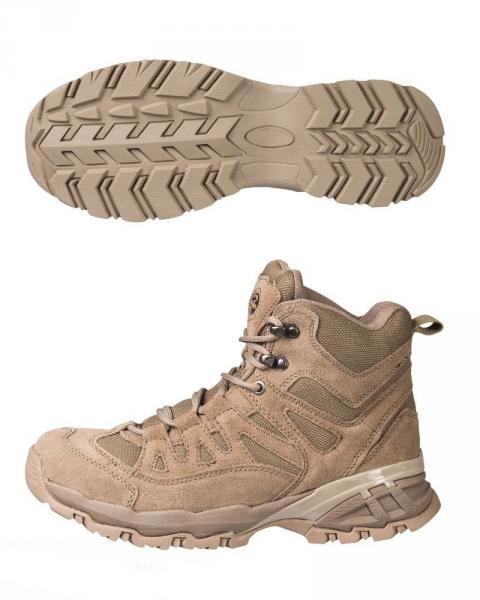 Тактические ботинки (берцы) MIL-TEC SQUAD STIEFEL 5 INCH Coyote (12824005) 45