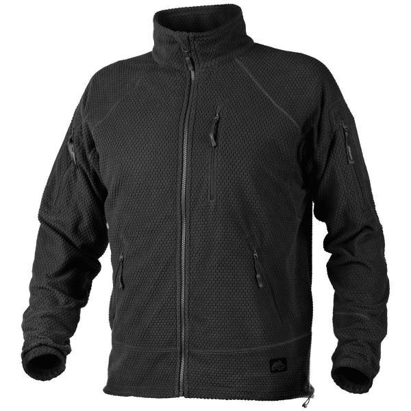Кофта Helikon Alpha Tactical Grid Fleece Jacket Black (BL-ALT-FG-01) S, Черный