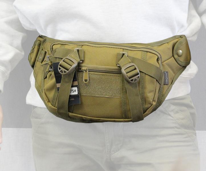 Сумка бананка (поясная сумка) с ремнём Coyote (175-CO)