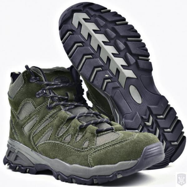 Ботинки MIL-TEC тактические TROOPER SQUAD 5 Oliva 12824001