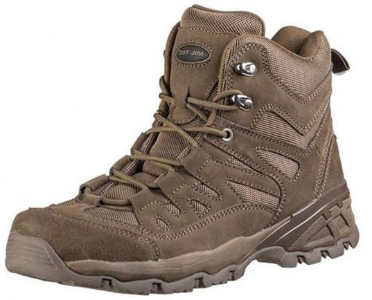 Тактические ботинки (берцы) MIL-TEC SQUAD STIEFEL 5 INCH Brown (12824009) 42