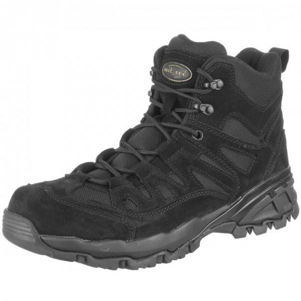 Ботинки MIL-TEC тактические TROOPER SQUAD 5 Black 12824002 42