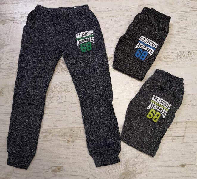 Спортивные штаны для мальчика от 3 до 8 лет