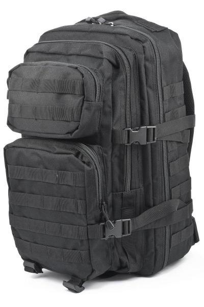 Штурмовой (тактический) рюкзак ASSAULT S Mil-Tec by Sturm Black 36 л. (14002202)