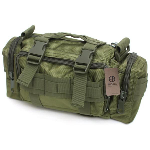 Тактическая универсальная (поясная, наплечная) сумка Silver Knight с системой M.O.L.L.E (105-olive)