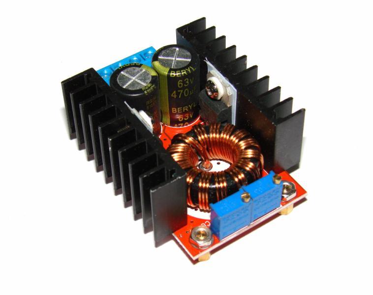 Преобразователь повышающий 10 - 32В выход 35 - 60В 150 Вт