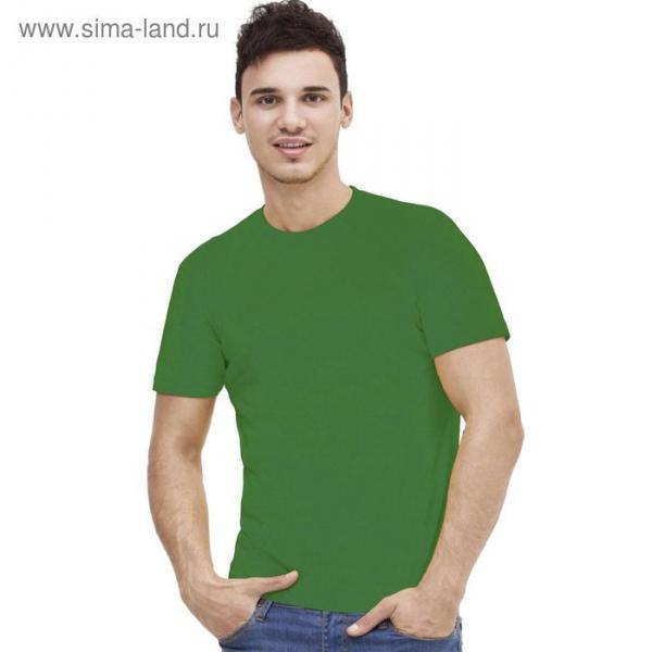 Футболка мужская StanAction, размер 52, цвет зелёный 160 г/м 51