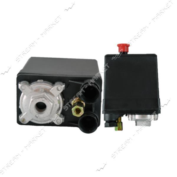 Прессостат блок автоматики компрессора 380В 1 выход 20А C-12