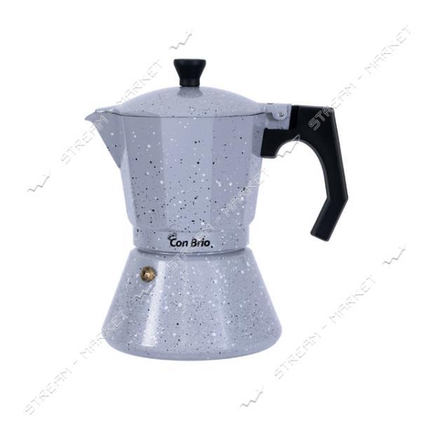 Гейзерная кофеварка ConBrio СВ-6706 300мл индукция
