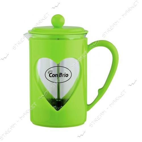 Заварник ConBrio CB-5660 зеленый 600мл пластик