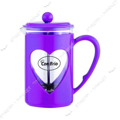 Заварник ConBrio CB-5680 фиолетовый 800мл пластик