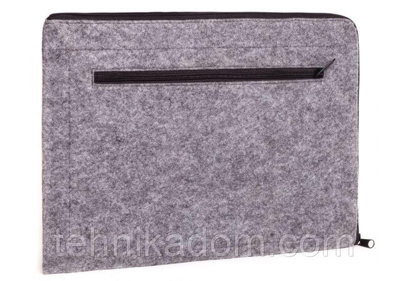 Горизонтальный чехол на молнии Gmakin для Macbook Air/Pro 13.3'' (GM67)