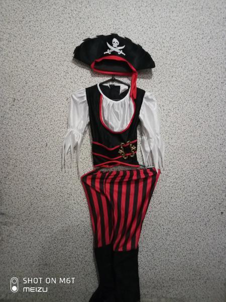 костюм карнавальный пират