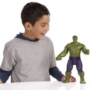 Фото Товары для детей, Фигурки Супергероев Электронный Халк-гигант (Хасбро, Титан)
