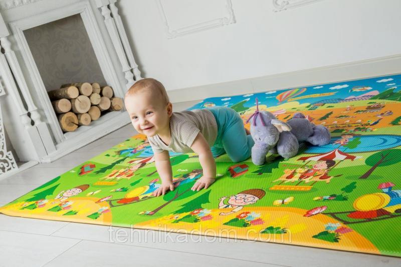"""Развивающий коврик Bugs® """"Парк Розваг""""  (2300*1400*15 мм)"""
