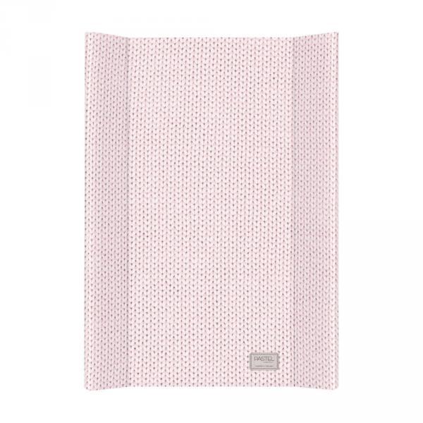 Пеленальная доска Ceba Baby 50х70 Pastel Collection English rib pink